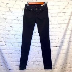 Angry Rabbit Black Skinny Jeans Size 27 / 5